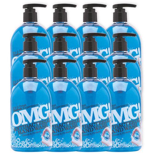 OMG Antibacterial Hand Soap 500ml Pack of 6 0604398