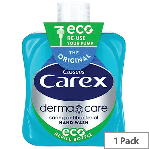 Carex Antibacterial Original Liquid Hand Soap 500ml (Pack of 1) 0604021