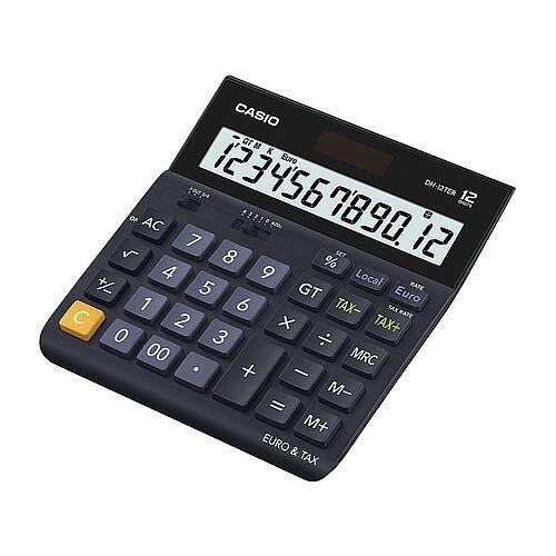Casio Desktop Calculator Euro DH-12TER