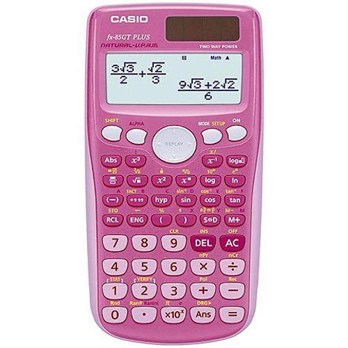 Casio Scientific Calculator Twin-Powered Pink FX-85GTPLUSPK-SB-UH