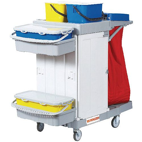 Rokleen Alpha Cleaning Trolley MWATST01L
