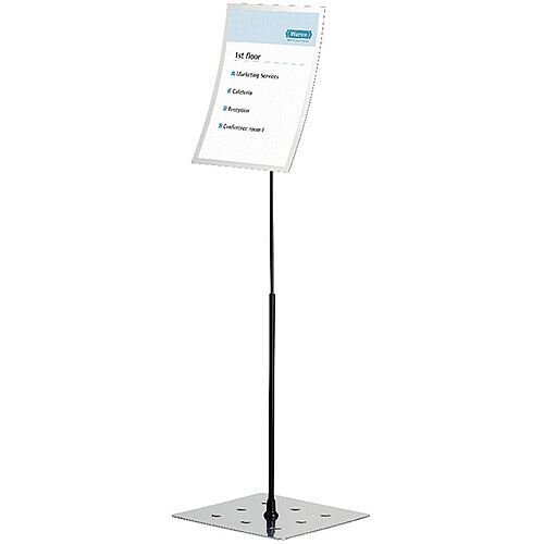 Durable Duraview A3 Silver Stand 498223