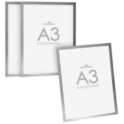 Durable Duraframe A3 Silver 3 for 2 DB810748