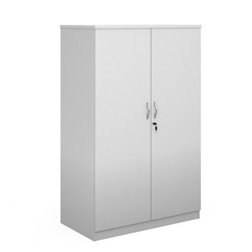 Systems Double Door Cupboard 1600Mm High - White