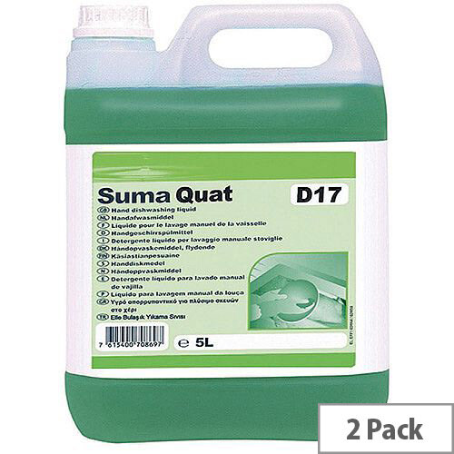 Suma Quat D1.7 5 Litre (Pack of 2) 100861466