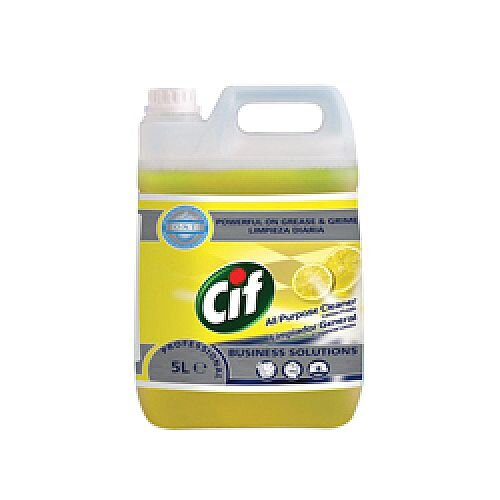 Cif Professional All Purpose Cleaner Lemon 5 Litre 7517879
