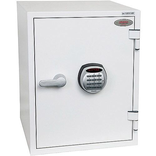 Phoenix Titan FS1283E Size 3 Fire &Security Safe with Electronic Lock White 36L 60min Fire Protection