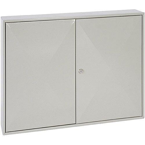 Phoenix Keysure KC0303K 200 Hook Deep Key Cabinet with Key Lock Light Grey