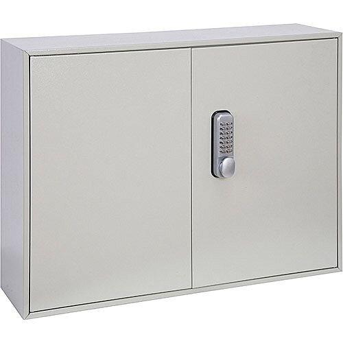 Phoenix Keysure KC0303M 200 Hook Deep Key Cabinet with Mechanical Combination Lock Light Grey