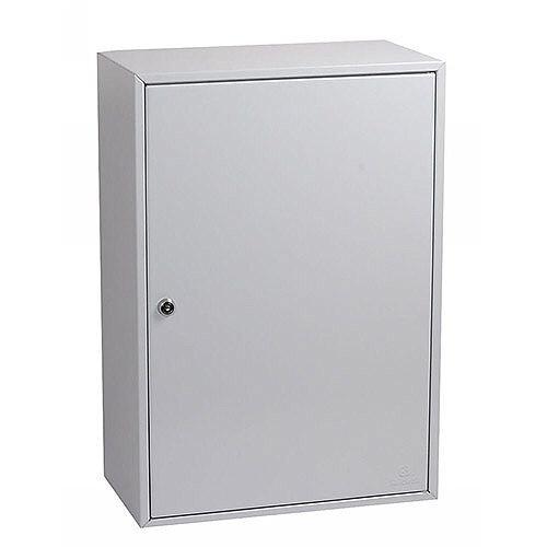 Phoenix Commercial Key Cabinet KC0605K 300 Hook with Key Lock. Light Grey