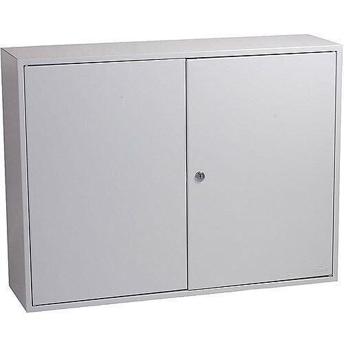Phoenix Commercial Key Cabinet KC0607K 600 Hook with Key Lock. Light Grey