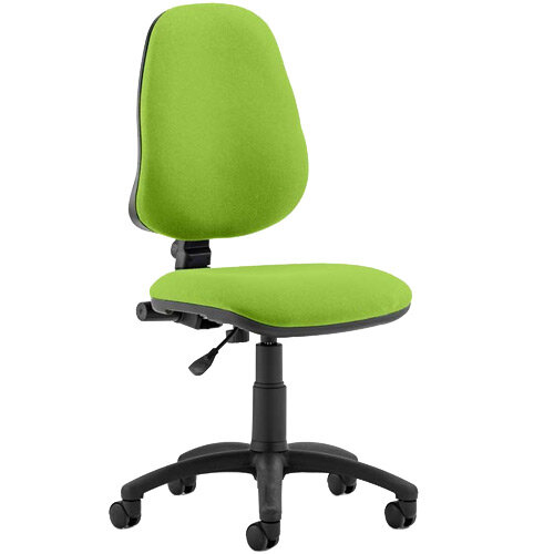 Eclipse I Lever Task Operator Office Chair Swizzle Green