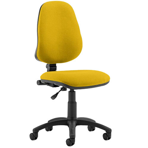 Eclipse I Lever Task Operator Office Chair Sunset Yellow