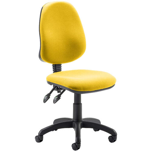 Eclipse II Lever Task Operator Office Chair Sunset Yellow