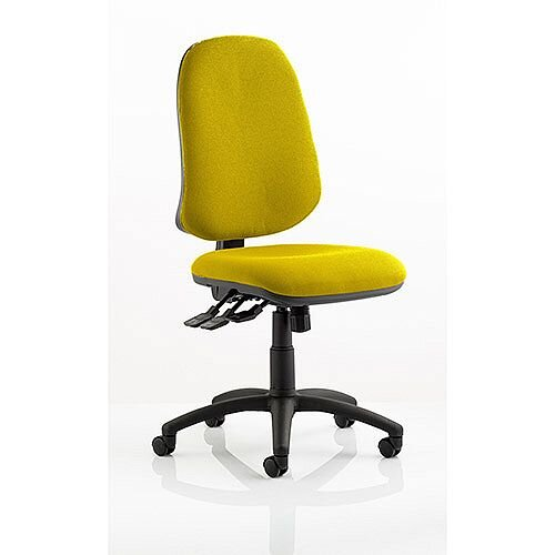 Eclipse XL III Lever Task Operator Office Chair Sunset Yellow