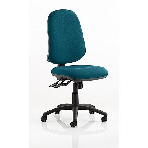 Eclipse XL III Lever Task Operator Office Chair Kingfisher Green