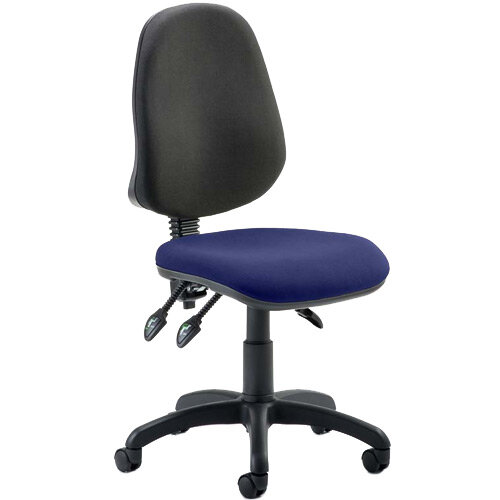 Eclipse III Lever Task Operator Office Chair Serene Blue Seat