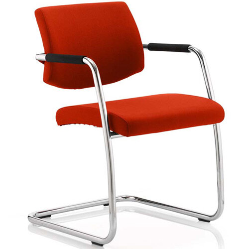 Havanna Boardroom &Visitor Chair Pimento Rustic Orange