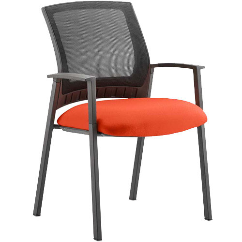 Metro Boardroom &Visitor Chair Pimento Rustic Orange