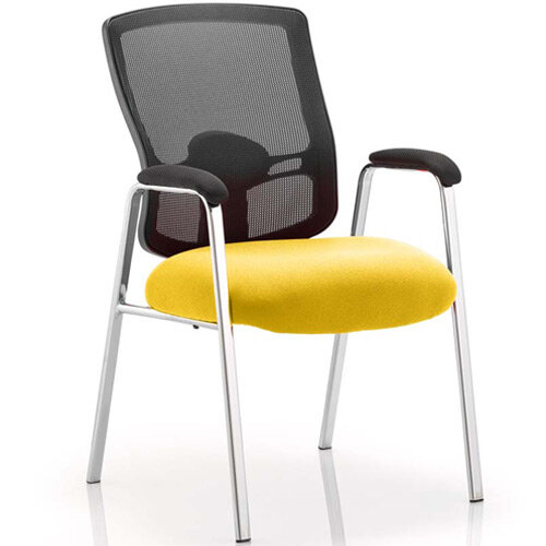 Portland Boardroom &Visitor Chair Sunset Yellow