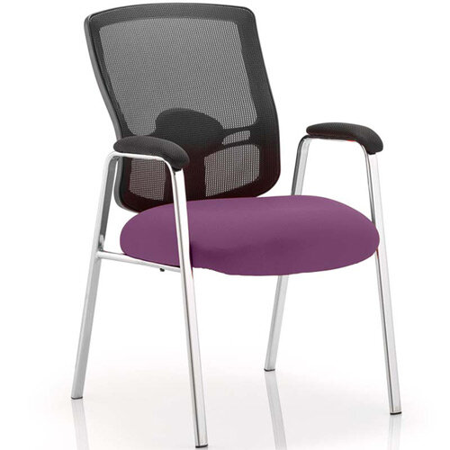 Portland Boardroom &Visitor Chair Purple