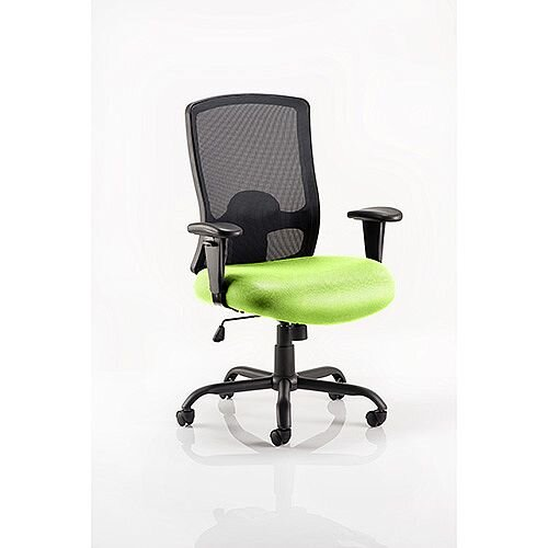 Portland HD Mesh Back Task Operator Office Chair Swizzle Green