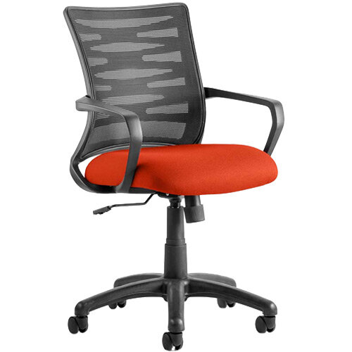 Vortex Task Operator Office Chair Pimento Rustic Orange