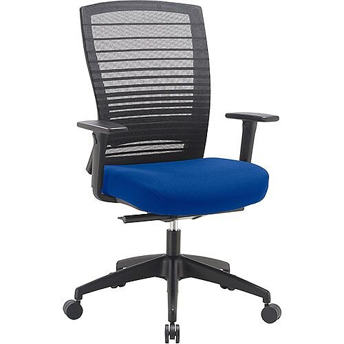 Norton Task Operator Mesh Back Office Chair With Serene Blue Seat