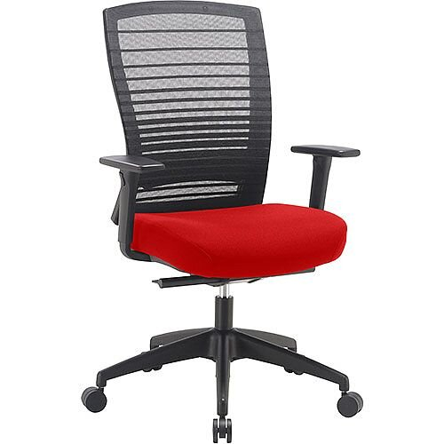 Norton Task Operator Mesh Back Office Chair With Pimento Rustic Orange Seat