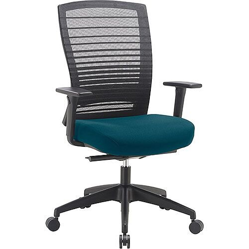 Norton Task Operator Mesh Back Office Chair With Kingfisher Green Seat
