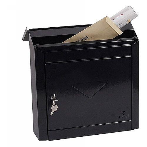 Phoenix Moda MB0113KB Top Loading Mail Box in Black with Key Lock Black