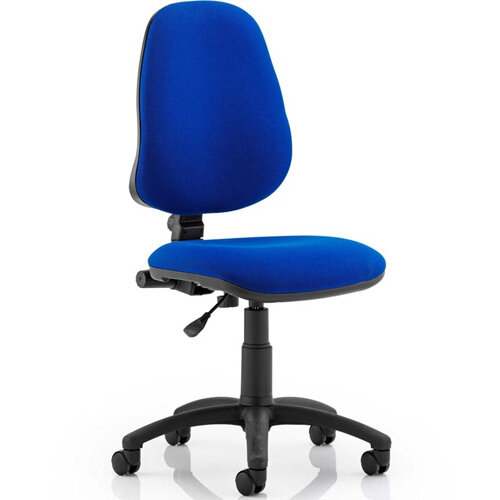 Eclipse I Lever Task Operator Office Chair Blue