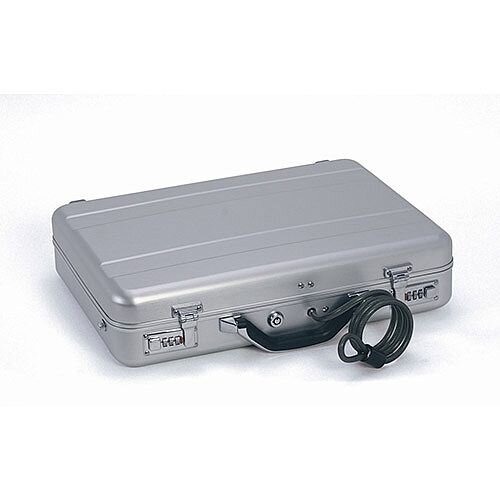 Phoenix Milano SC0071C Hard Laptop Security Case with Combination Lock Silver