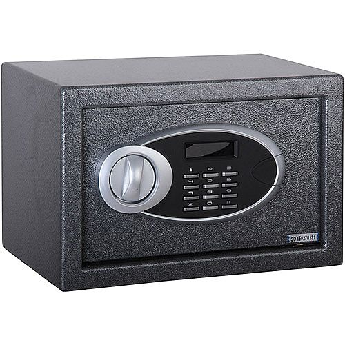 Phoenix Rhea SS0101E Size 1 Security Safe with Electronic Lock Metalic Graphite 10L