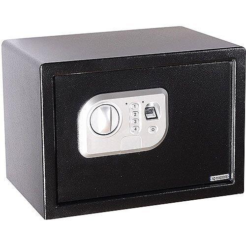 Phoenix Neso SS0201F Size 1 Security Safe with Fingerprint Lock Black 16L