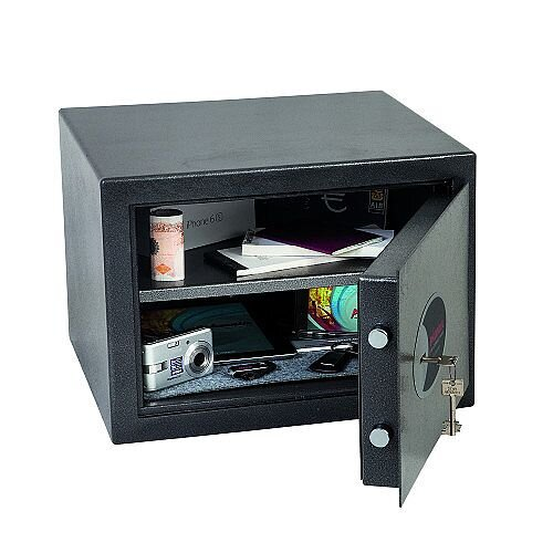 Phoenix Lynx SS1172E Size 2 Security Safe with Electronic Lock Metalic Graphite 22L