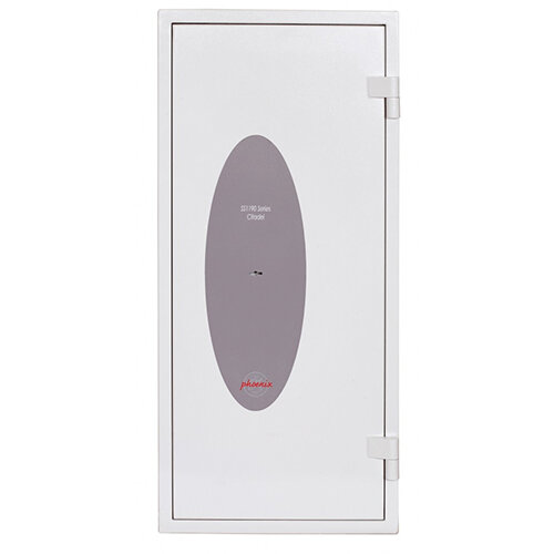 Phoenix Citadel SS1193K Size 3 Fire & S2 Security Safe with Key Lock White 78L 30mins Fire Protection