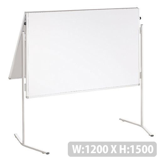 Franken ECO Training Board Whiteboard Foldable 1200x1500mm CardBoard ECO-UMTK-G