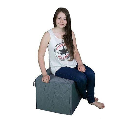 Elephant Cube Chair 450x450x400mm Smoke Grey