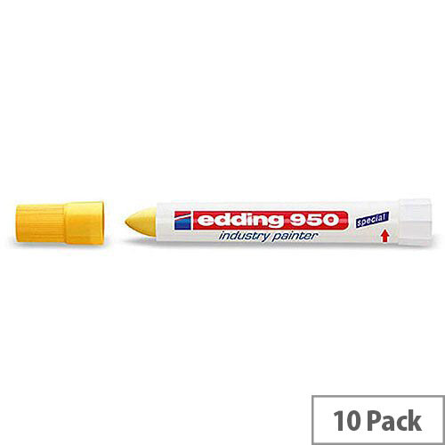 Edding Industry Painter Yellow Pack 10 950-005