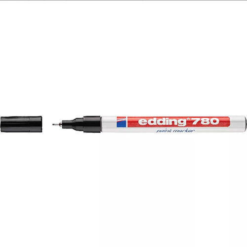 Edding 780 Paint Marker Black Pack of 10 4-780001