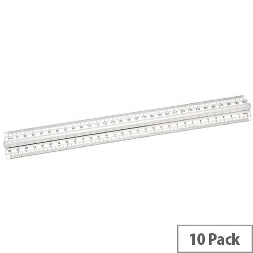Finger Grip Ruler Pk10 FGR10