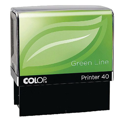Colop Printer 40 Green Line ID Stamp C144841ID