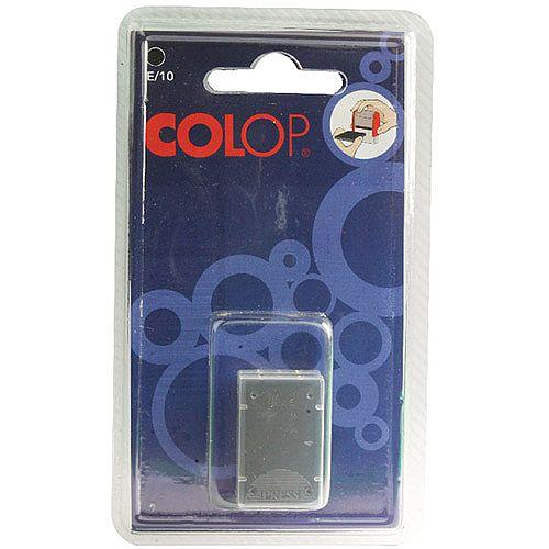 Colop E/10 Replacement Pad Black E10Black Pk 2