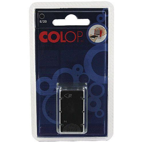 Colop E/20 Replacement Pad Black E20Black Pk 2
