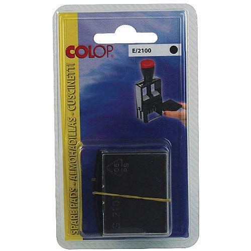 Colop E/2100 Replacement Pad Black E2100Black Pk 2