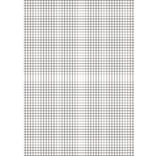 Loose Leaf Paper A4 10mm Squares Pack of 2500 EN09807