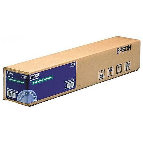 Epson Double Weight Matte Plotter Paper 24 Inches x25m 180gsm Ref C13S041385