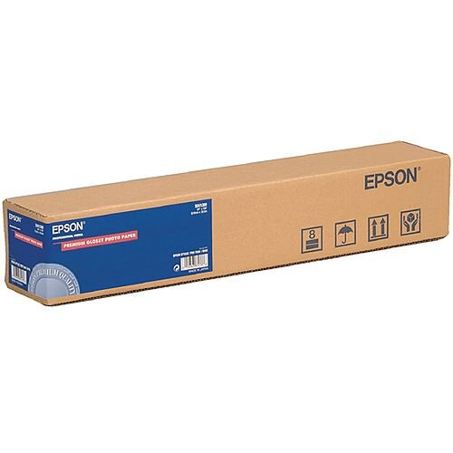 Epson Premium Glossy Photo Plotter Paper Roll 24in x 30.5m