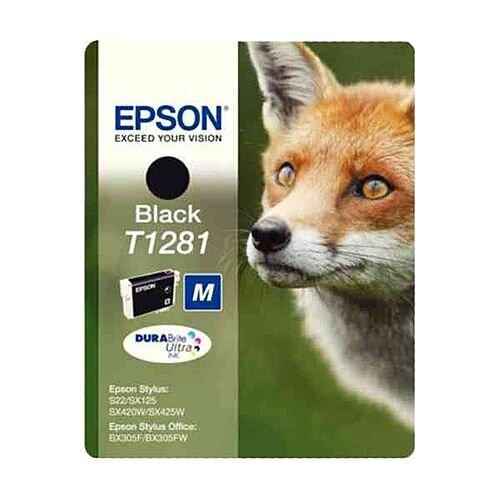 Epson T1281 Black Ink Cartridge Fox Series C13T12814010 C13T12814012